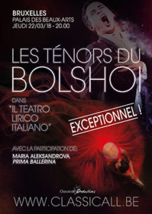 Spectacle Bolshoi - Classicall Productions