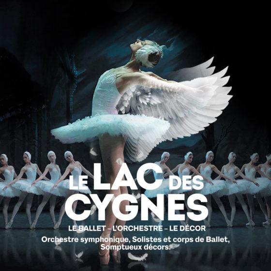 Le Lac Des Cygnes, ballet, orchestre symphonique, décors somptueux, solistes et corps de ballet
