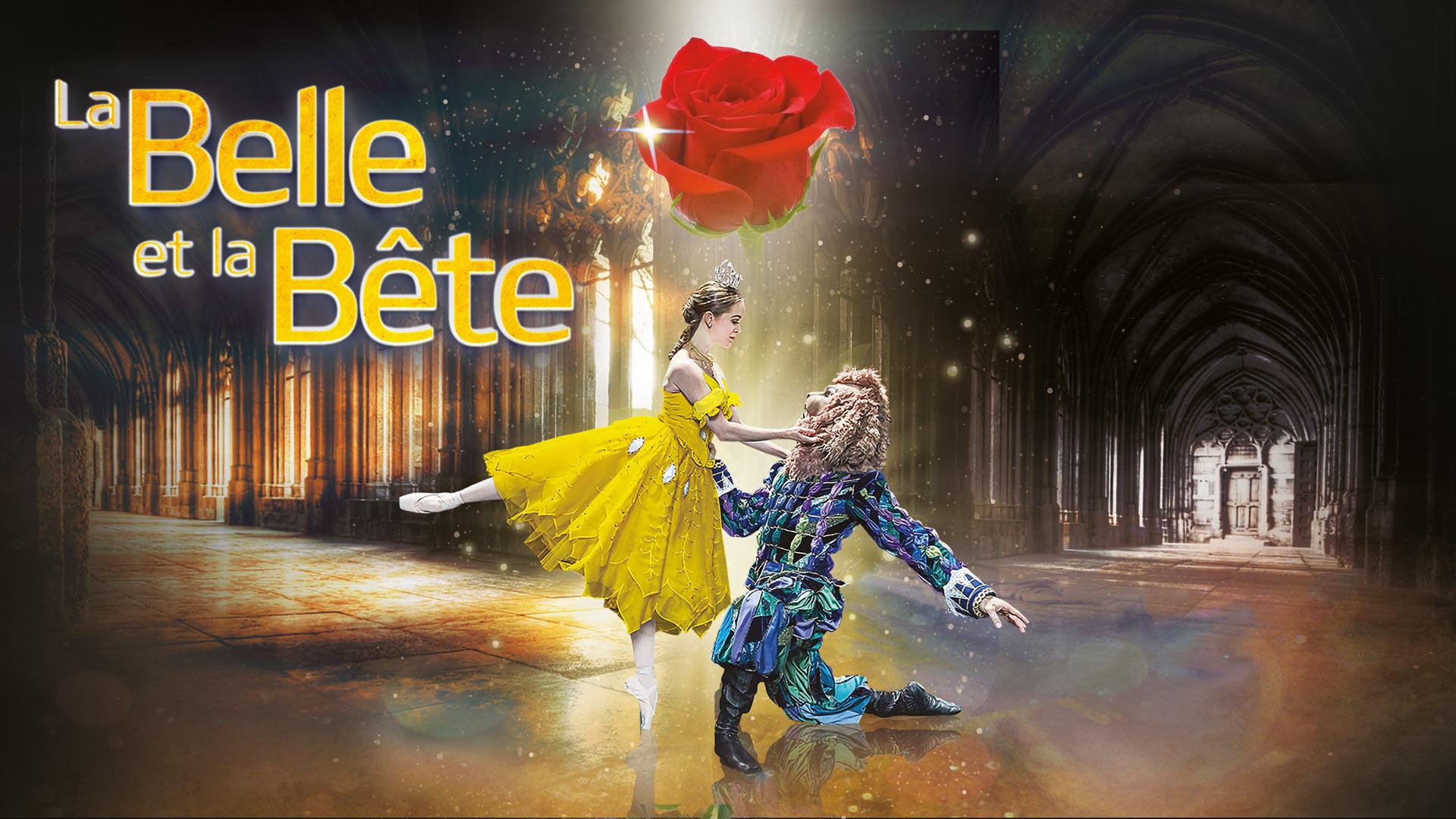 La belle et la bête, Dans des décors féériques, un récit merveilleux raconté et dansé par 20 artistes et un grand orchestre de 30 musiciens !