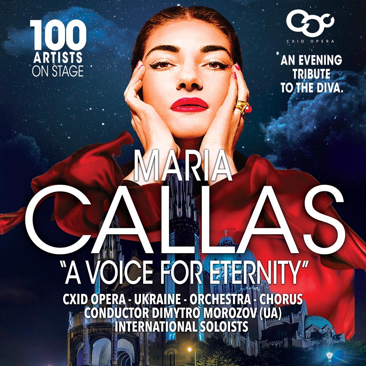 Maria Callas, a voice for eternity, basilic of Koekelberg