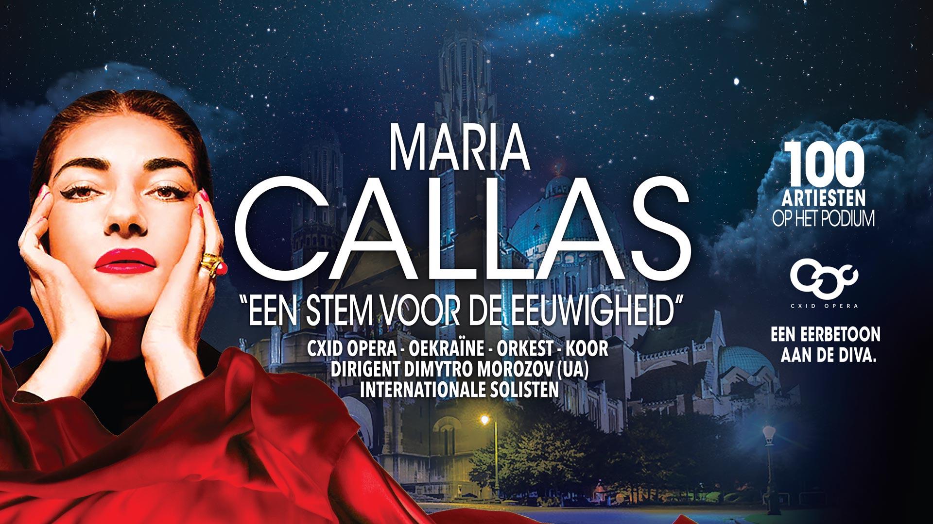 Maria Callas, een stem voor de eeuwigheid, Basiliek van Koekelberg