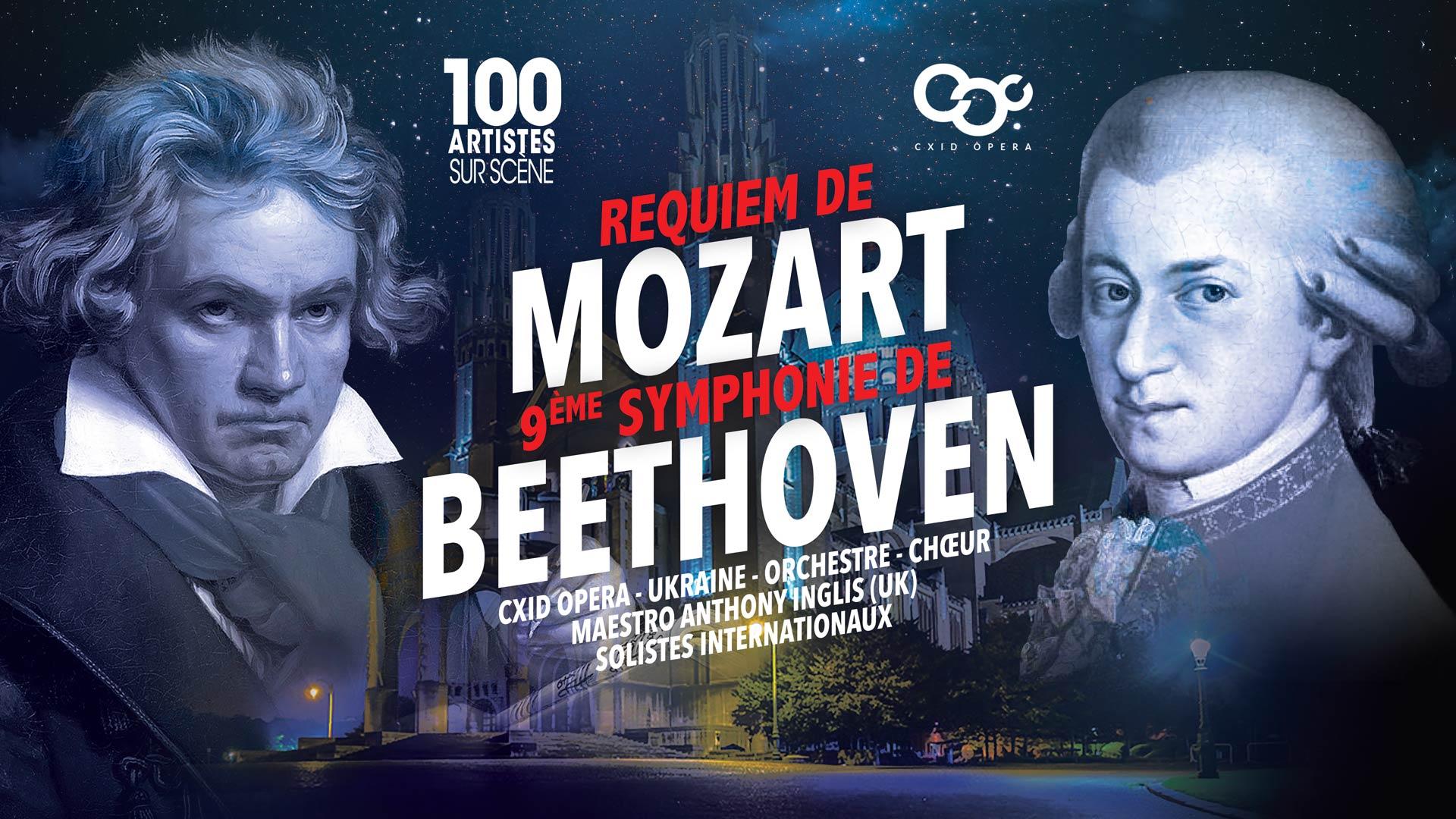 Le Requiem de Mozart et la 9ème symphonie de Beethoven, Basilique de Koekelberg