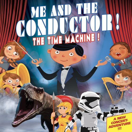 Me and the conductor, the time machine! A new concert Adventure!