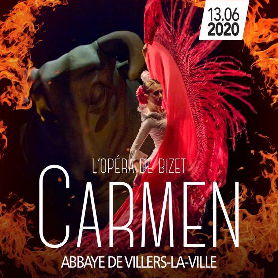 Carmen, l'Opéra de Bizet, Abbaye de Villers-La-Ville