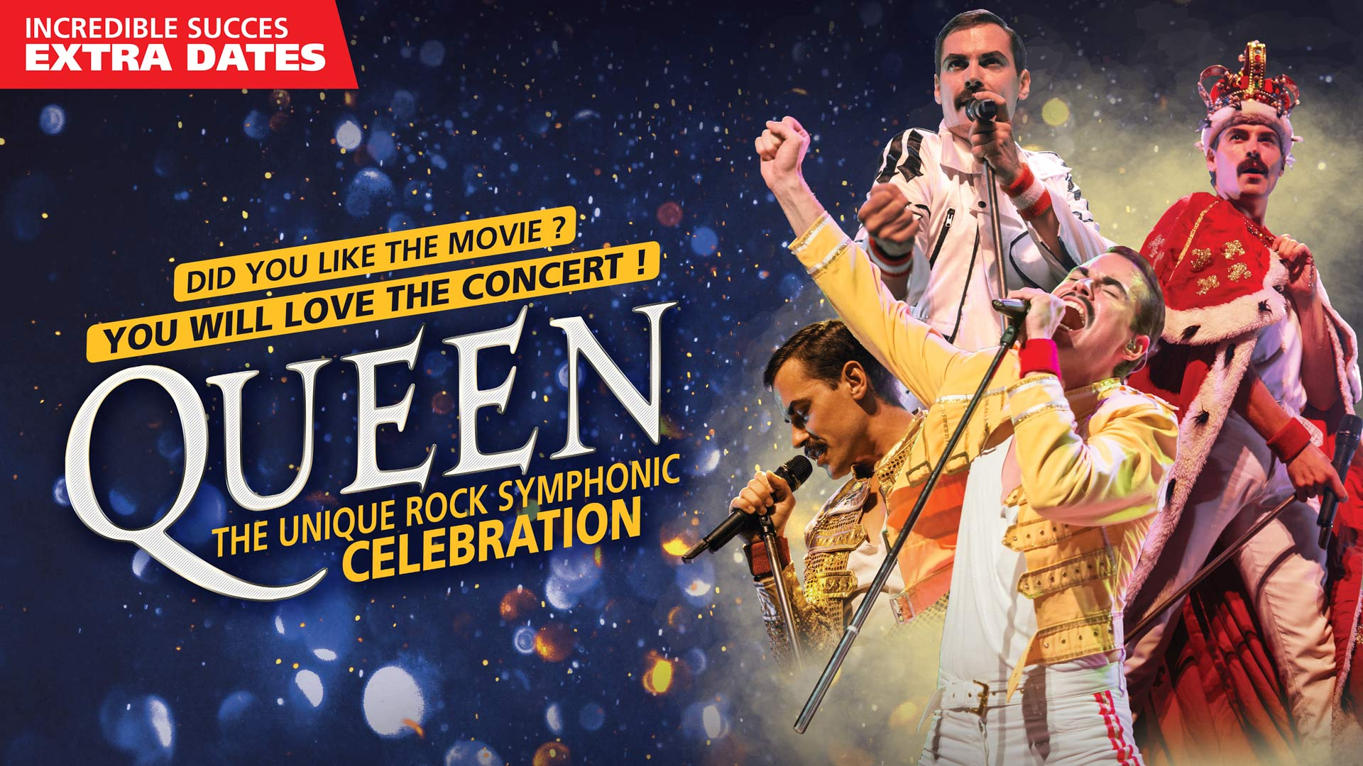 Queen, The Unique Rock-Symphonic Celebration