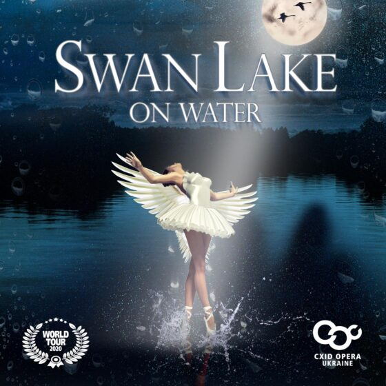 Swan lake on water, World TOUR, Cxid Opera Ukraine