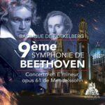 Basilique de Koekelberg, 9ème symphonie de Beethoven, Concerto en E mineur opus 61 de Mendelson, Opéra National d'Ukraine