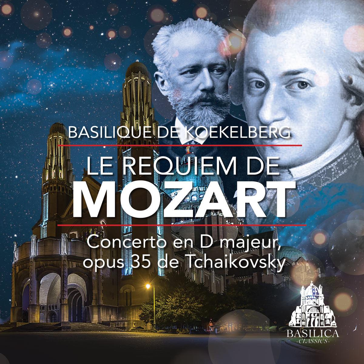 Le requiem de Mozart, Concerto en D majeur, Opus 35 de Tchaikovsky, Opera National d'Ukraine