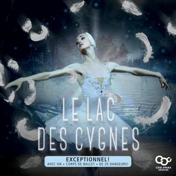 Le Lac Des Cygnes, Exceptionnel, Corps de ballet de 35 danseurs