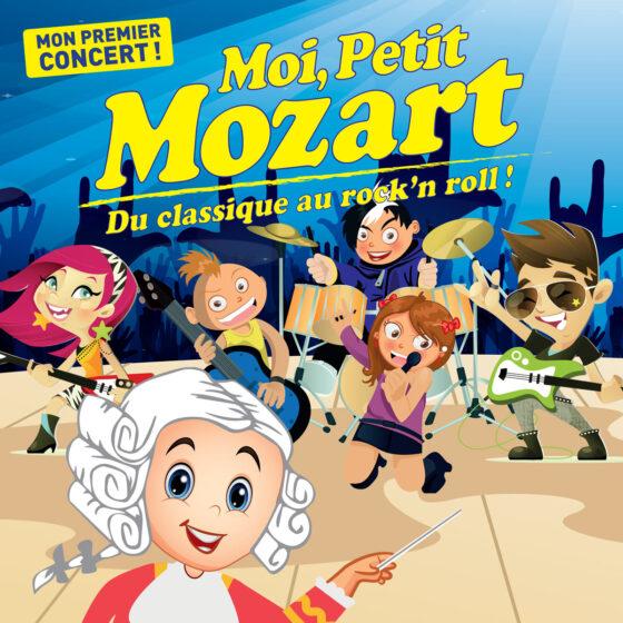 Moi, Petit Mozart, du classique au rock'n roll