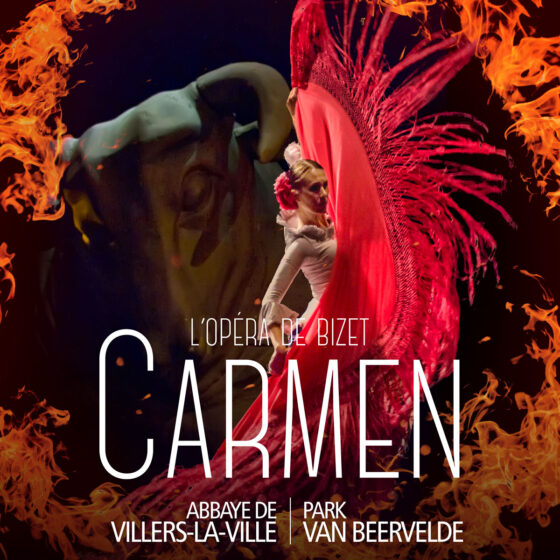 Carmen, l'Opéra de Bizet, Abbaye de Villers-La-Ville, Park Van Beervelde