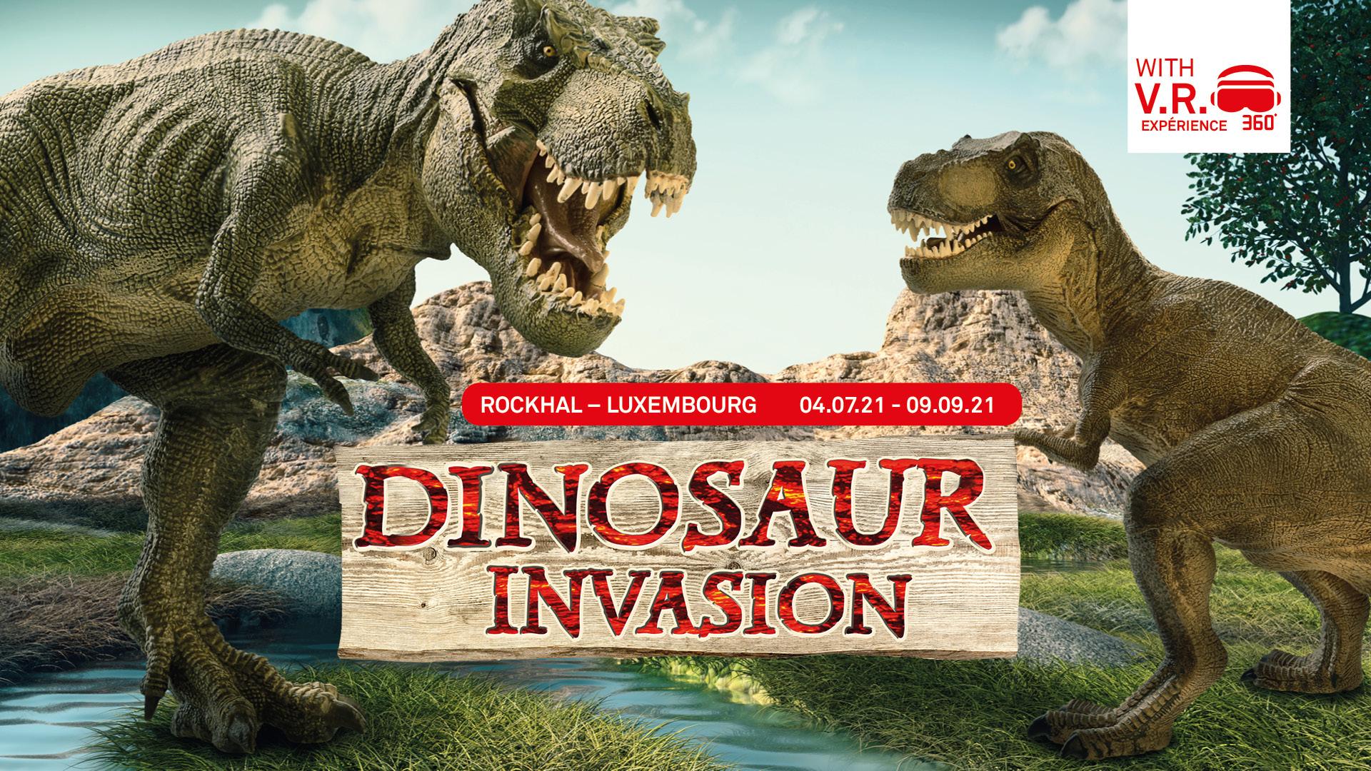 Dinosaure Invasion, Luxembourg, Rockhal, 04/07/21 - 09/09/21, VR360°