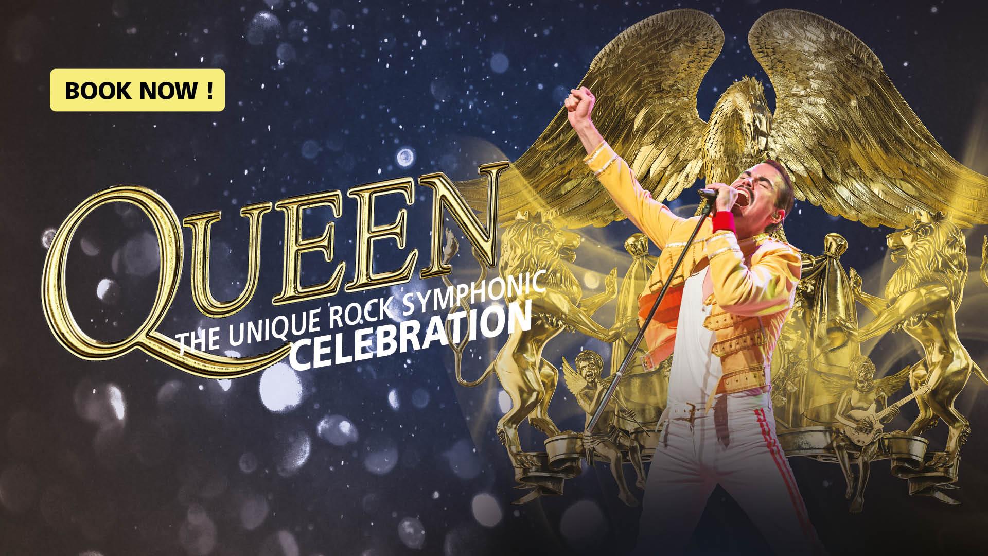 Queen, The unique rock symphonic, celebration